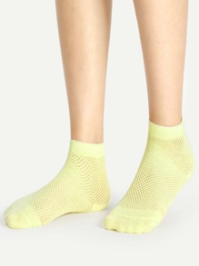 Hollow Ankle Socks