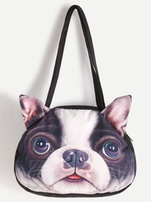 Dog Shaped Shoulder Bag