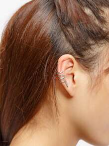 Snake Shaped Ear Cuff 1pc