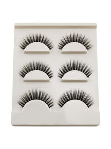 Thick False Eyelashes 3 Pair