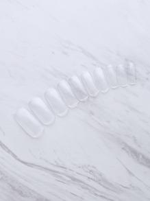 Multi Shaped Clear False Nail 500pcs