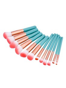 Soft Bristle Makeup Brush 12pcs