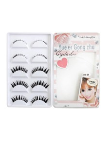 Multi Shaped False Eyelashes Set