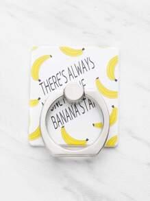Banana Finger Ring Phone Holder