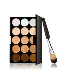 Concealer Palette With Brush