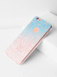 Ombre Print Clear iPhone 6 Plus/6s Plus Case