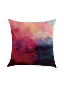 Watercolor Print Pillowcase Cover
