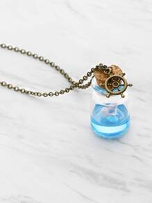 Drifting Bottle Chain Necklace