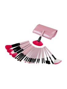 Delicate Makeup Brush Set With Bag
