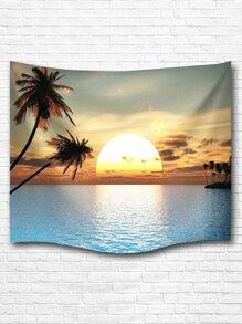 Beach Print Tapestry