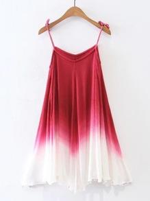 Cami Straps Ombre Tent Dress