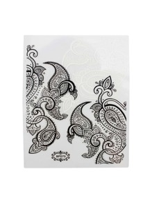 Tribal Pattern Nail Art Stickers