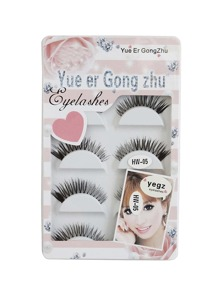 Thick False Eyelashes Set