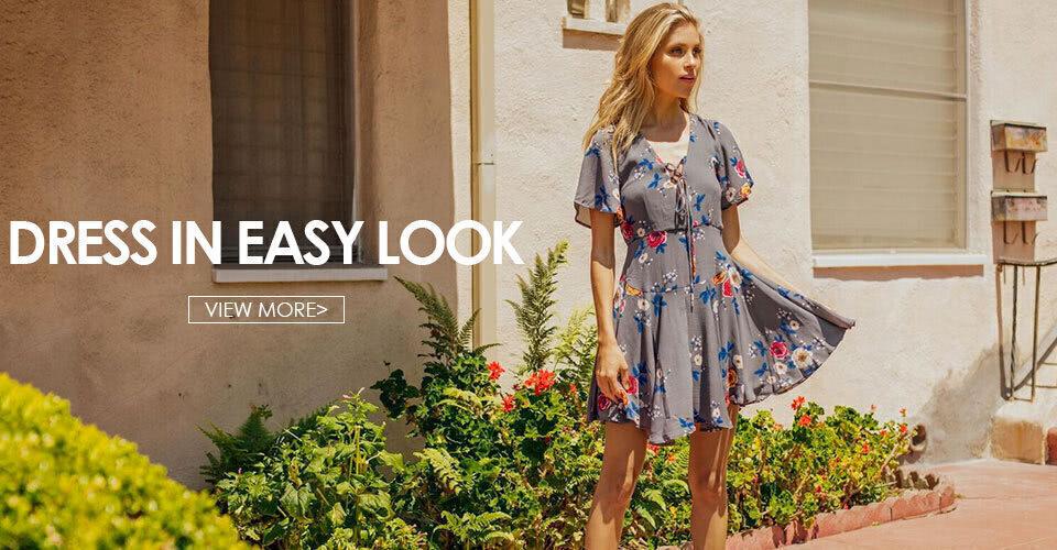 Dress in Easy Look