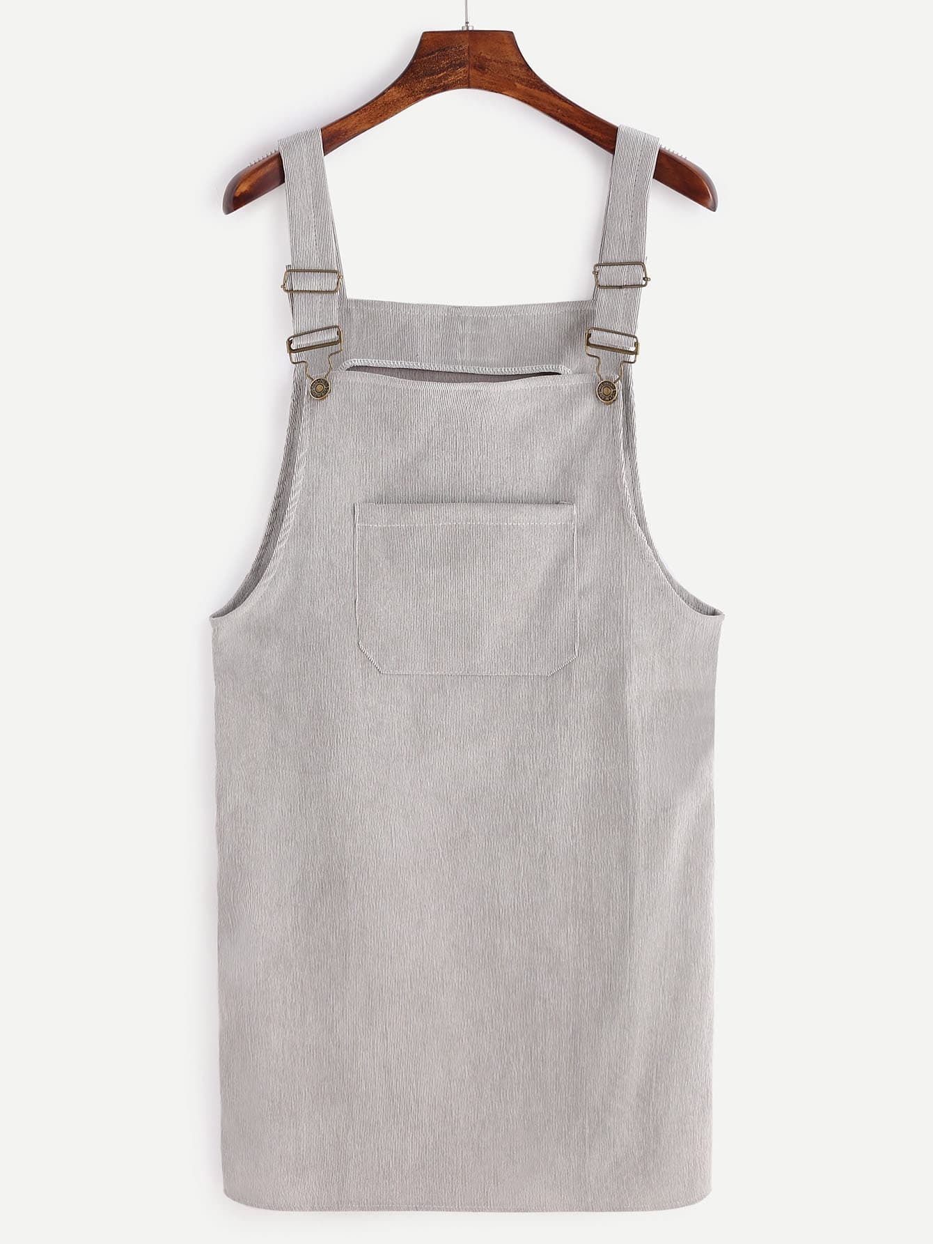 d152192d43 Front Pocket Corduroy Overall Dress EmmaCloth-Women Fast Fashion Online