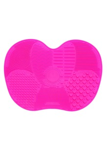Hot Pink Apple Shaped Makeup Brush Cleaner